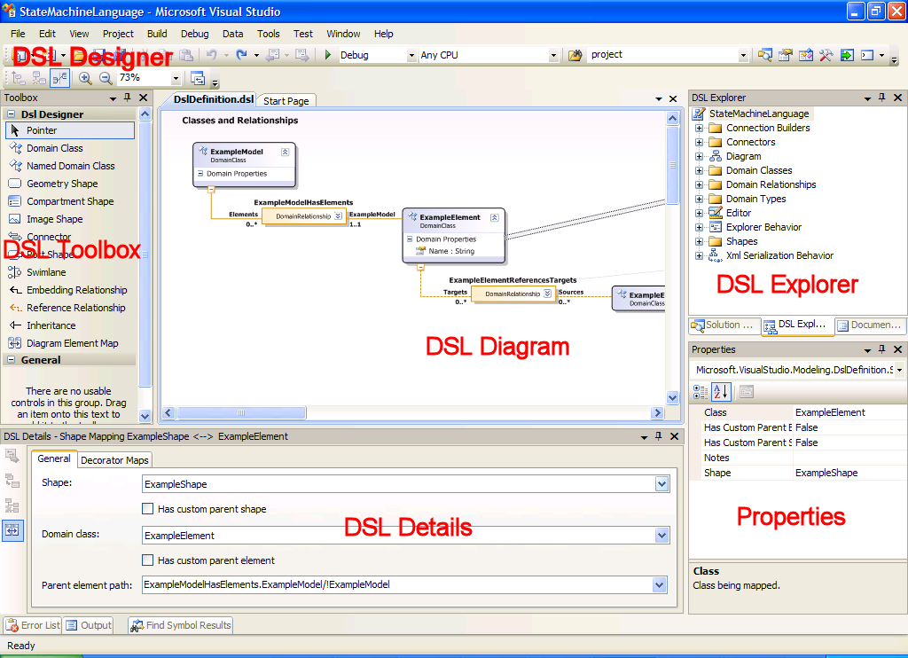Design and implementation of domain specific languages the help for dsl tools press f1 is located under the node visual studio sdkdomain specific language tools ccuart Gallery